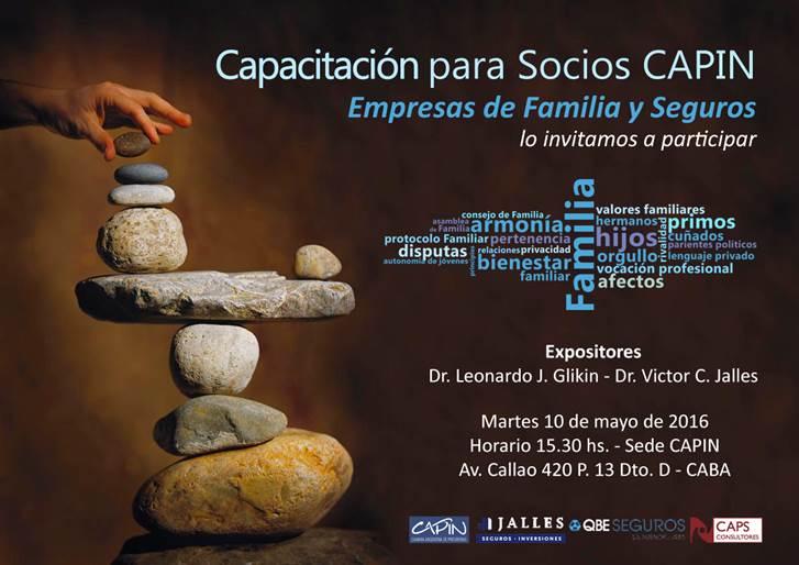 Capacitación Empresas de Familia y Seguros